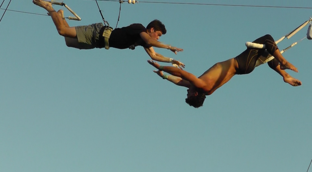 Trapeze Catch 1 - Family Vacation Video
