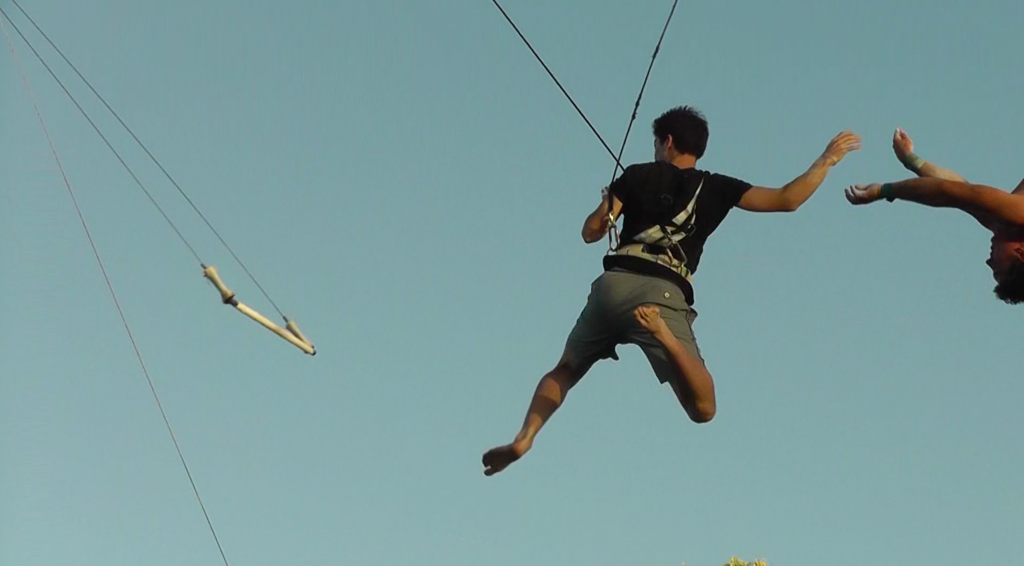 Trapeze Catch 2 - Family Vacation Video